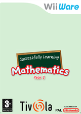 Successfully Learning Mathematics Year 2 WiiWare cover (WUIP)