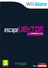 escapeVektor: Chapter 1 WiiWare cover (WYIP)