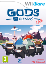 Gods vs Humans Demo WiiWare cover (XICP)