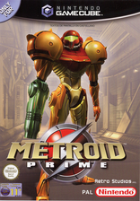 Metroid Prime GameCube cover (GM8P01)