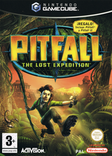 Pitfall: The Lost Expedition GameCube cover (GPHP52)