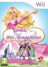 Barbie y las Tres Mosqueteras Wii cover (R23P52)