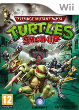Teenage Mutant Ninja Turtles: Smash-Up Wii cover (R2TP41)