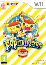 Pop'n Rhythm Wii cover (R83PA4)