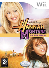 Hannah Montana: La Película Wii cover (R8HP4Q)
