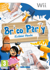 Brico Party: ¡Cuidado! Mancha Wii cover (R9EPNP)