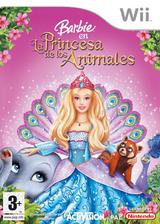 Barbie en La Princesa de los Animales Wii cover (RBVP52)