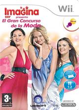 Imagina Ser Presenta: El Gran Concurso de la Moda Wii cover (RFZP41)