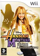 Hannah Montana: Únete a Su Gira Mundial Wii cover (RHQP4Q)