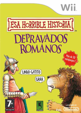 Esa Horrible Historia: Depravados Romanos Wii cover (RIOPSU)
