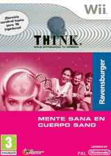 Think: Sigue Entrenando tu Cerebro Wii cover (RJ9PFR)