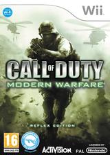 Call of Duty: Modern Warfare: Reflex Wii cover (RJAX52)