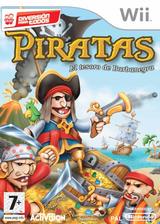 Piratas: El Tesoro de Barbanegra Wii cover (RP7P52)