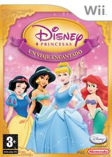 Disney Princesas: Un Viaje Encantado Wii cover (RPSP4Q)