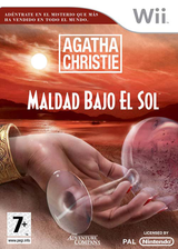 Agatha Christie: Maldad Bajo el Sol Wii cover (RQEP6V)