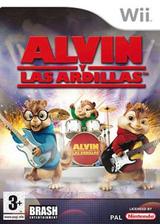 Alvin y las Ardillas Wii cover (RVBPRS)