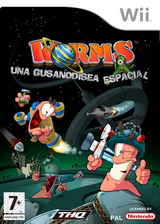 Worms: Una Gusanodisea Espacial Wii cover (RWMP78)