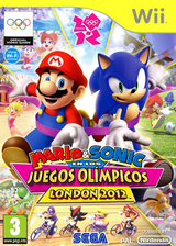 Mario & Sonic en los Juegos Olímpicos - London 2012 Wii cover (SIIP8P)