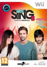 Let's Sing 8 - Versión Española Wii cover (SLJPKM)