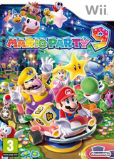 Mario Party 9 Wii cover (SSQP01)