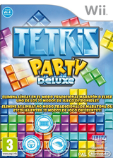 Tetris Party Deluxe Wii cover (STEPTR)