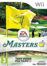 Tiger Woods PGA Tour 12:The Masters Wii cover (STXP69)