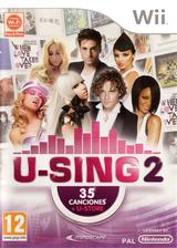U-Sing 2 Wii cover (SU3SMR)