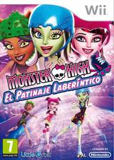 Monster High: El Patinaje Laberíntico Wii cover (SU5PVZ)
