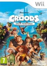 Los Croods: ¡Fiesta Prehistórica! Wii cover (SVVPAF)