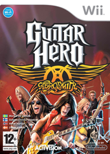 Guitar Hero: Aerosmith Wii cover (RGVP52)