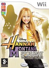Hannah Montana: Spotlight World Tour Wii cover (RHQY4Q)