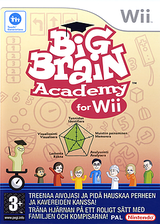 Big Brain Academy for Wii Wii cover (RYWP01)