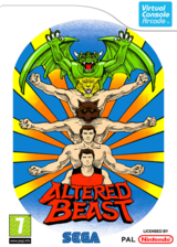 Altered Beast pochette VC-Arcade (E6XP)