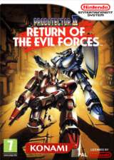 Probotector II : Return of the Evil Forces pochette VC-NES (FCSP)