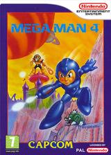 Mega Man 4 pochette VC-NES (FFNP)