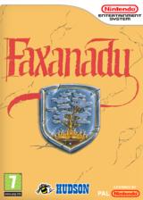Faxanadu pochette VC-NES (FFRP)