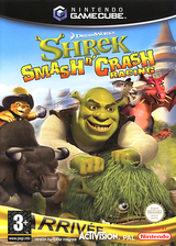 Shrek Smash n' Crash Racing pochette GameCube (G4IP52)