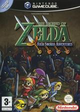 The Legend of Zelda: Four Swords Adventures pochette GameCube (G4SP01)