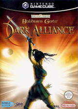Baldur's Gate Dark Alliance pochette GameCube (GDEP71)