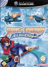 Skies of Arcadia Legends pochette GameCube (GEAP8P)
