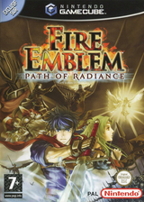 Fire Emblem: Path of Radiance pochette GameCube (GFEP01)