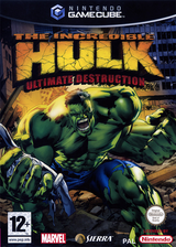 The Incredible Hulk Ultimate Destruction pochette GameCube (GHUF7D)