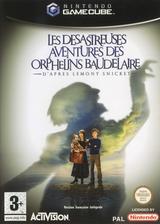 Les Desastreuses Aventures des Orphelins Baudelaire pochette GameCube (GLCF52)