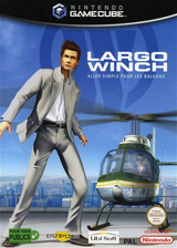 Largo Winch : Aller Simple pour les Balkans pochette GameCube (GLGP41)