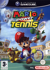 Mario Power Tennis pochette GameCube (GOMP01)