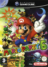 Mario Party 6 pochette GameCube (GP6P01)