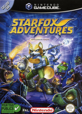 Star Fox Adventures pochette GameCube (GSAP01)