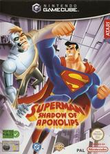 Superman: Shadow of Apokolips pochette GameCube (GSUP70)