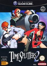 TimeSplitters 2 pochette GameCube (GTSP4F)