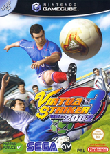 Virtua Striker 3 Ver. 2002 pochette GameCube (GVSP8P)